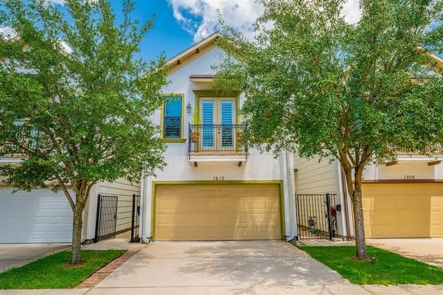 1810 Edwards Street, Houston, TX 77007 (MLS #91171715) :: The Home Branch