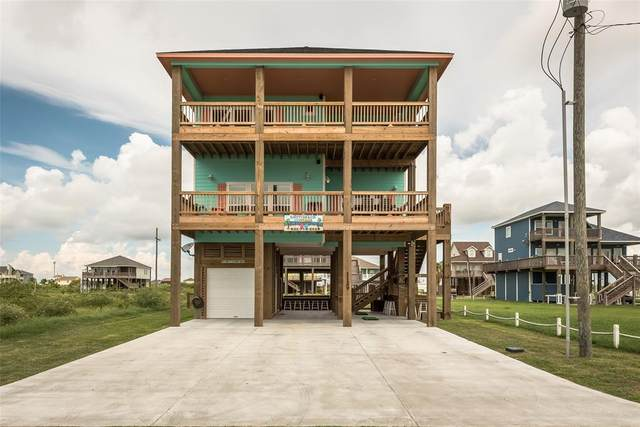 1129 Blue Water Drive, Crystal Beach, TX 77650 (#91221719) :: ORO Realty