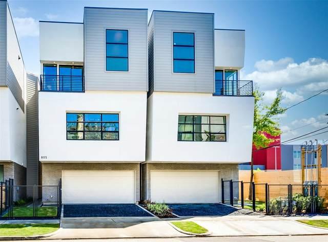 805 W Clay Street, Houston, TX 77019 (MLS #91279872) :: Ellison Real Estate Team