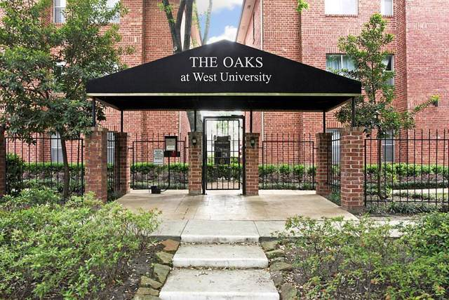 4041 Drake Street #121, Houston, TX 77005 (MLS #91443869) :: Ellison Real Estate Team