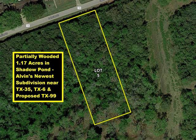 Lot 5 County Road 136, Alvin, TX 77511 (MLS #91831478) :: Connect Realty