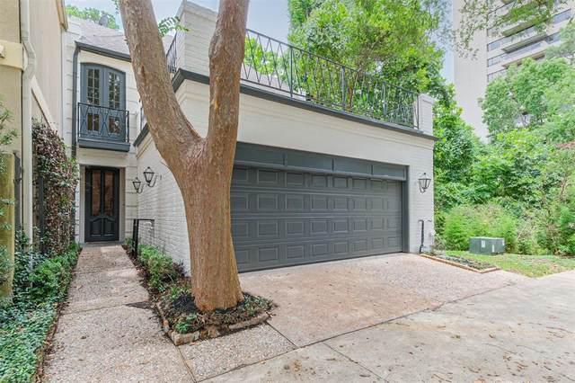 10 S Briar Hollow Lane #30, Houston, TX 77027 (MLS #91944853) :: My BCS Home Real Estate Group