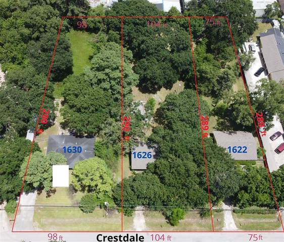 1630 Crestdale Drive, Houston, TX 77080 (#92061740) :: ORO Realty