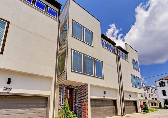 906 W 17th Street B, Houston, TX 77008 (MLS #92620657) :: Giorgi Real Estate Group