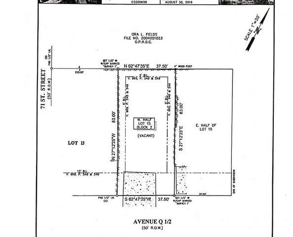 7004 Avenue Q 1/2, Galveston, TX 77551 (MLS #92938742) :: Green Residential
