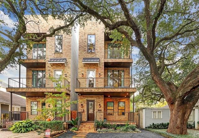 4315 Dickson Street B, Houston, TX 77007 (MLS #92989512) :: The Home Branch