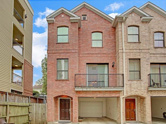 202 Mcgowen Street F, Houston, TX 77006 (MLS #93233607) :: Glenn Allen Properties