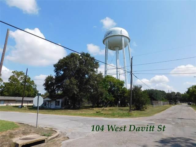 104 Davitt W, Eagle Lake, TX 77434 (MLS #93350416) :: Giorgi Real Estate Group