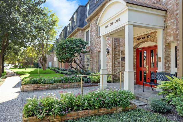 353 N Post Oak Lane #621, Houston, TX 77024 (MLS #93439018) :: The SOLD by George Team