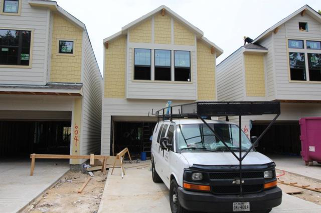 606 W 25th Street, Houston, TX 77008 (MLS #9366745) :: Keller Williams Realty