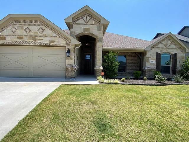 222 Buckeye Drive, Weatherford, TX 76086 (MLS #93905594) :: The Bly Team