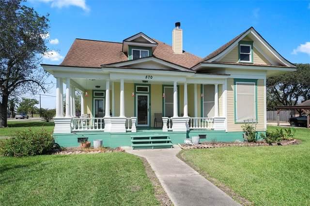 570 Wightman Street, Matagorda, TX 77457 (MLS #93993370) :: Caskey Realty