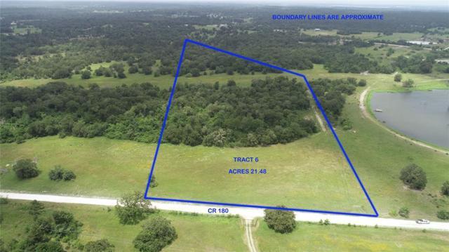 TRACT 6 County Road 180, Anderson, TX 77830 (MLS #94112264) :: TEXdot Realtors, Inc.