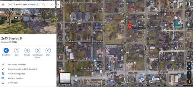 2610 Staples Street, Houston, TX 77026 (MLS #94546767) :: Phyllis Foster Real Estate