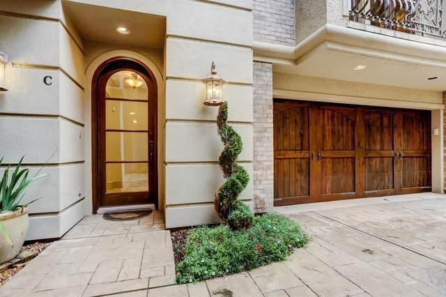 3507 Audubon Place C, Houston, TX 77006 (MLS #94554301) :: Caskey Realty