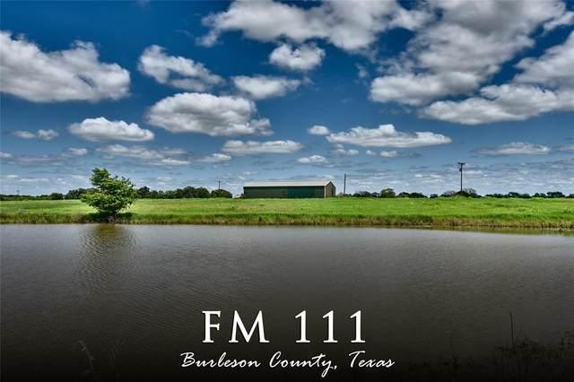 0 Farm Road 111, Deanville, TX 77852 (MLS #95204367) :: Christy Buck Team
