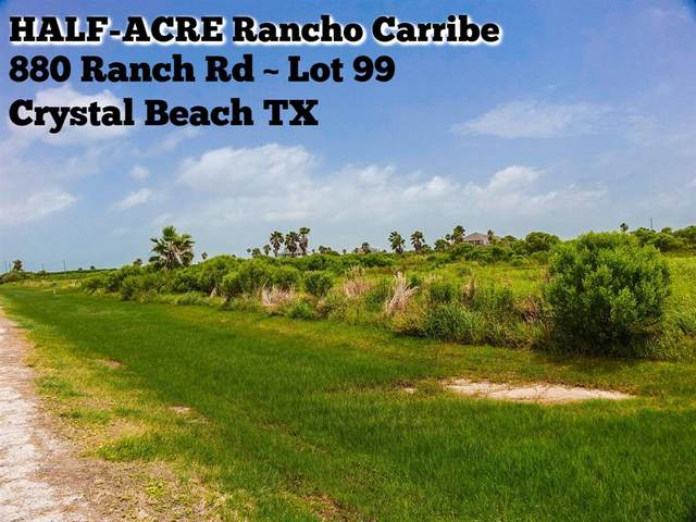 880 Ranch Road, Crystal Beach, TX 77650 (MLS #9565692) :: Connect Realty