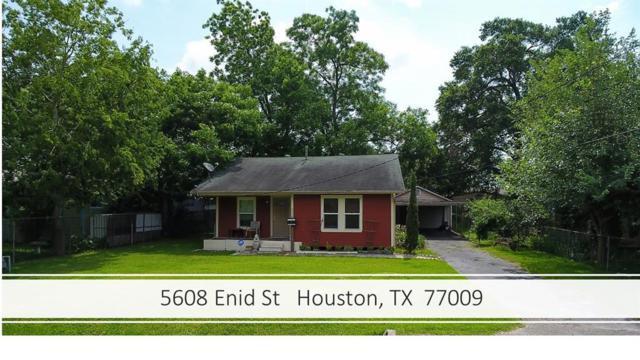 5608 Enid Street, Houston, TX 77009 (MLS #9585952) :: The Heyl Group at Keller Williams