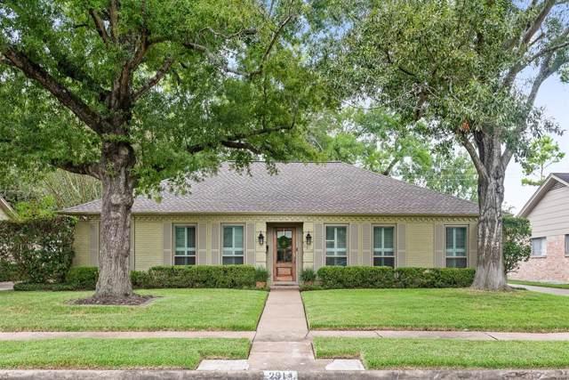 2914 Ann Arbor Drive, Houston, TX 77063 (MLS #95933393) :: The Heyl Group at Keller Williams