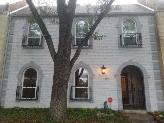575 N Post Oak Lane, Houston, TX 77024 (MLS #96079130) :: Texas Home Shop Realty