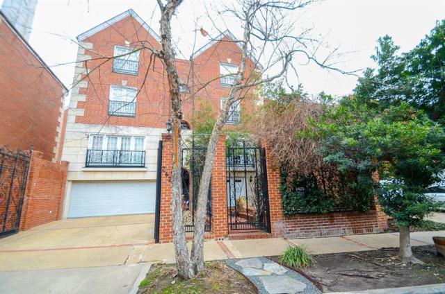 2425 Kingston Street #2425, Houston, TX 77019 (MLS #96141589) :: Fanticular Real Estate, LLC