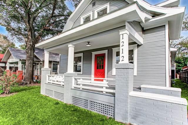 1212 Tulane Street, Houston, TX 77008 (MLS #96323345) :: Green Residential
