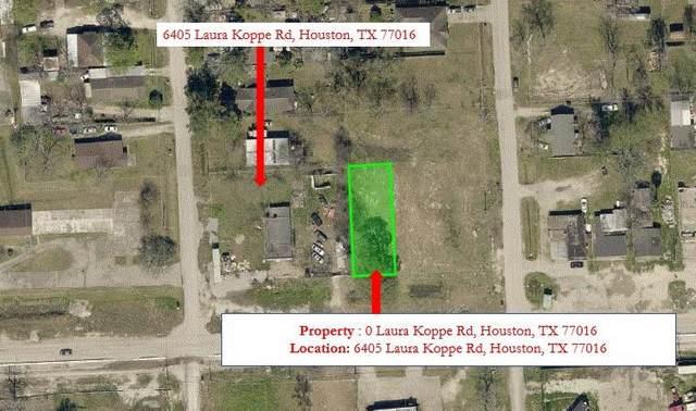 0 Laura Koppe Road, Houston, TX 77016 (MLS #96624908) :: The SOLD by George Team
