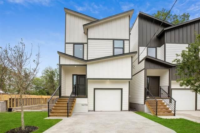 1407 E 33rd Street B, Houston, TX 77022 (MLS #96928127) :: Ellison Real Estate Team