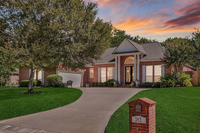 143 Lakeside Drive, Conroe, TX 77356 (MLS #96955359) :: The Andrea Curran Team powered by Compass