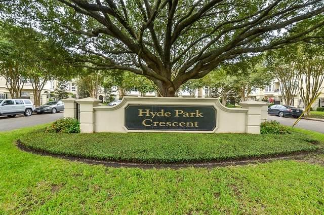 1515 Hyde Park Boulevard #31, Houston, TX 77006 (MLS #96999842) :: Lerner Realty Solutions
