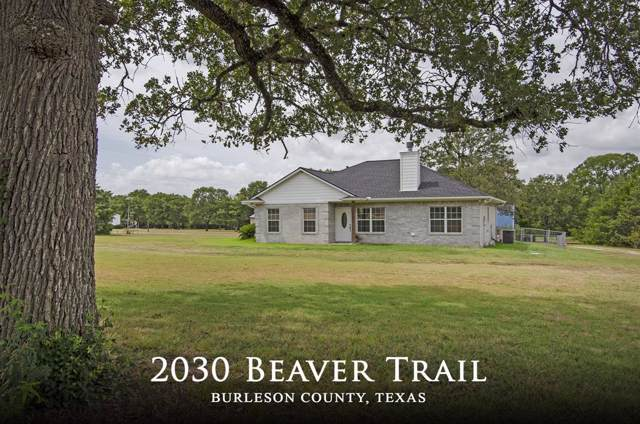 2030 Beaver Trail #138, Caldwell, TX 77836 (MLS #97005420) :: The Jill Smith Team