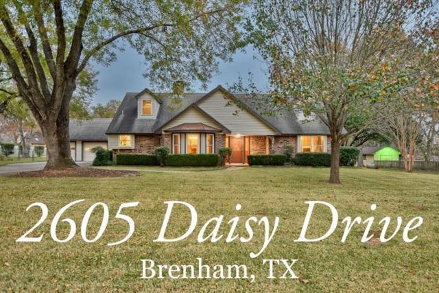 2605 Daisy Drive, Brenham, TX 77833 (MLS #97084399) :: Connect Realty