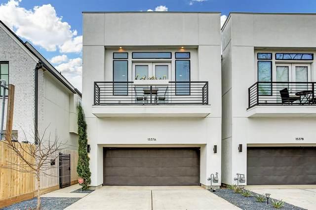 1537 Laird Street A, Houston, TX 77008 (MLS #97155237) :: The Property Guys