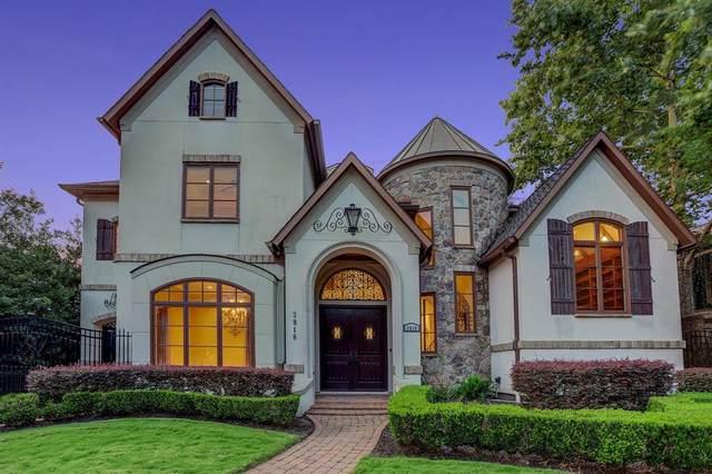 3818 Meadow Lake Lane, Houston, TX 77027 (#97226874) :: ORO Realty