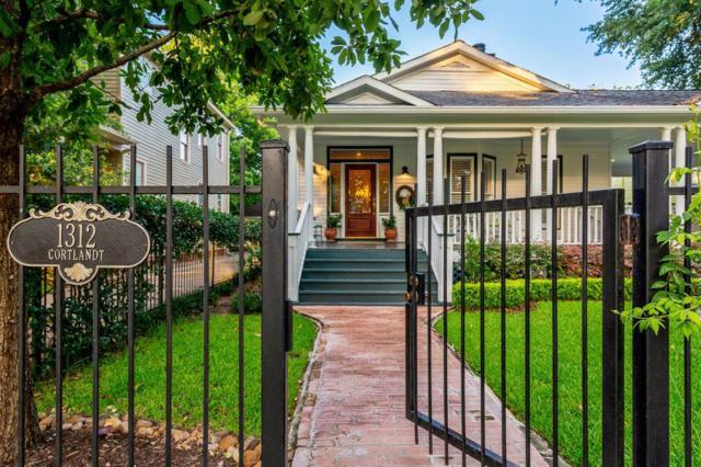 1312 Cortlandt Street, Houston, TX 77008 (MLS #97236773) :: Caskey Realty