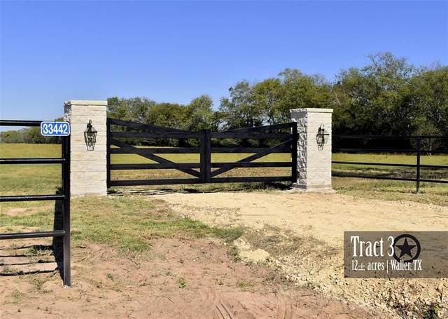 33442 Baethe Road, Waller, TX 77484 (MLS #97722642) :: NewHomePrograms.com