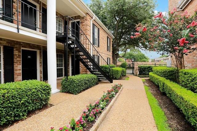 6402 Del Monte Drive #46, Houston, TX 77057 (MLS #98052056) :: Caskey Realty