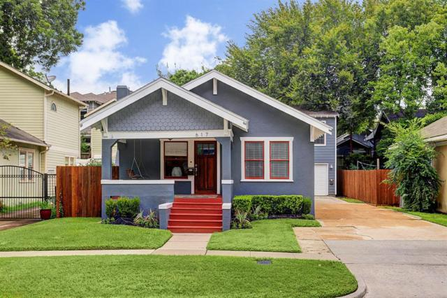 617 Ridge Street, Houston, TX 77009 (MLS #98150364) :: Fairwater Westmont Real Estate
