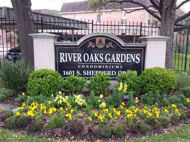 1601 S Shepherd Drive #140, Houston, TX 77019 (MLS #98338787) :: Ellison Real Estate Team