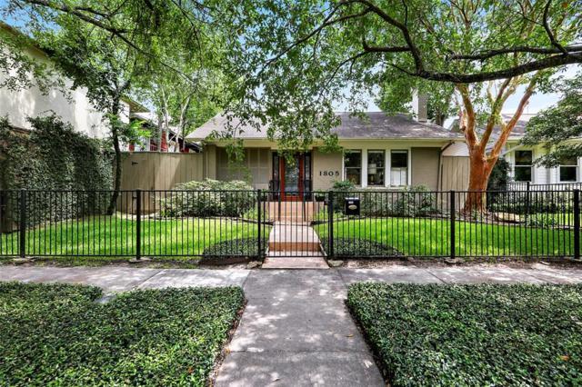 1805 Haver Street, Houston, TX 77006 (MLS #98924607) :: Texas Home Shop Realty