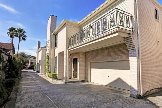 2203 Potomac Drive B, Houston, TX 77057 (MLS #9986881) :: Giorgi Real Estate Group