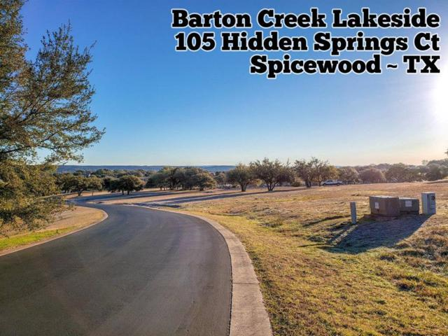 105 Hidden Springs Court, Spicewood, TX 78669 (MLS #11185866) :: Texas Home Shop Realty