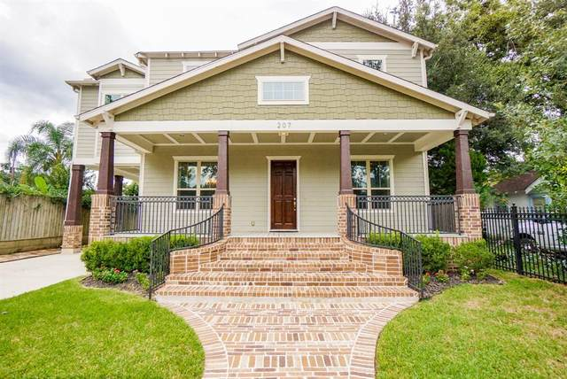 207 Munford Street, Houston, TX 77008 (MLS #11326198) :: The SOLD by George Team