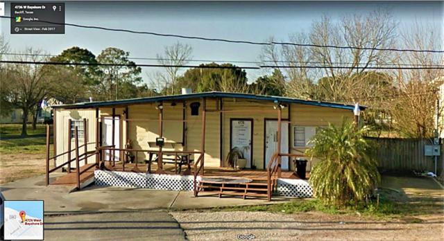 4726 W Bayshore Drive, Bacliff, TX 77518 (MLS #11904469) :: Texas Home Shop Realty