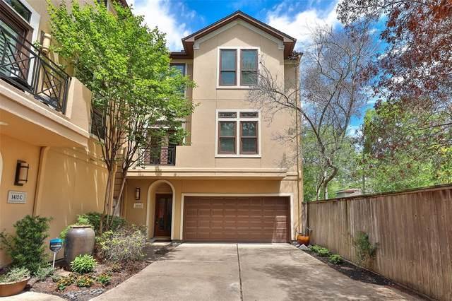 1412 Harold Street D, Houston, TX 77006 (#13683707) :: ORO Realty