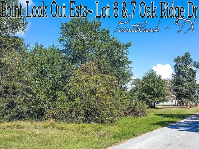 Lot 6-7 Oak Ridge Drive, Point Blank, TX 77364 (MLS #14166094) :: Texas Home Shop Realty