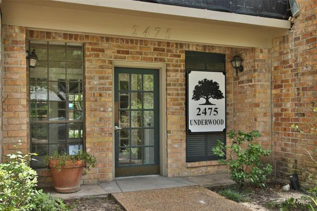2475 Underwood Street #187, Houston, TX 77030 (MLS #15774726) :: Giorgi Real Estate Group