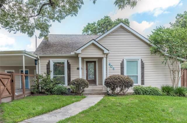 405 Joyce Street, Houston, TX 77009 (MLS #20680836) :: The Heyl Group at Keller Williams