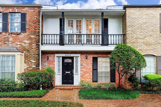 6449 Burgoyne Road #25, Houston, TX 77057 (MLS #27512983) :: REMAX Space Center - The Bly Team