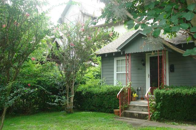 1813 W 14th Street, Houston, TX 77008 (MLS #27665268) :: All Cities USA Realty